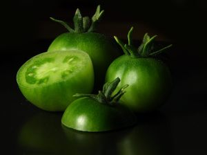 Delicious and Beautiful... The Green Tomoat