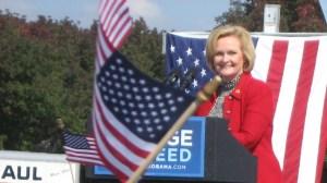 Senator Claire McCaskill Barack Obama Rally