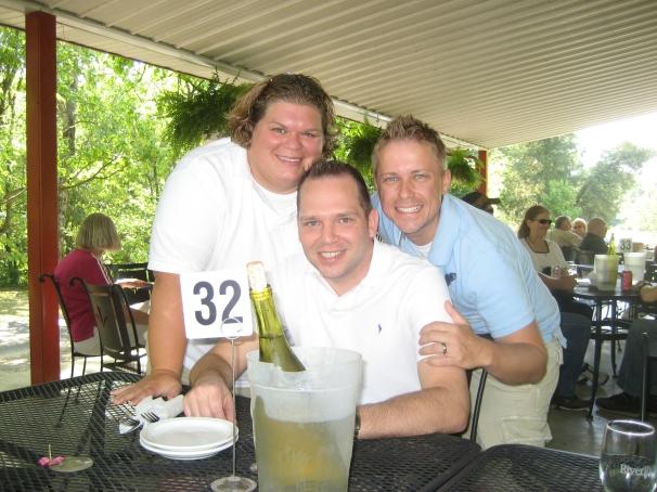 Jason Caldarera, Andy, Natalie River Ridge Winery